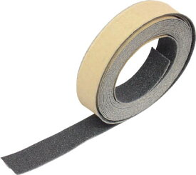 【送料無料!TRUSCO工具が安い(トラスコ中山)】TRUSCO ノンスリップテープ 屋外用 25mmX5m ブラック TNS25 [256-4556] 【すべり止めテープ】[TNS-25]