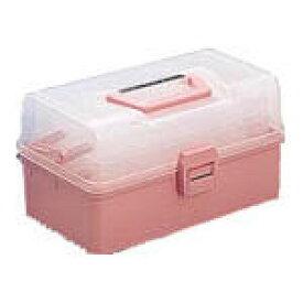 【送料無料!工具箱が割引価格】TRUSCO ホームケース 321X195X165 ピンク HP320 [121-2524] 【樹脂製工具箱】[HP-320]