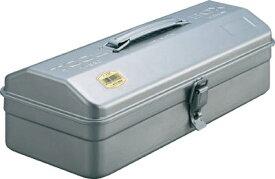 【送料無料】TRUSCO 山型ツールボックス シルバー Y350 [303-6588] 【スチール製工具箱】[Y-350]
