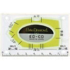 【送料無料!水準器・水平器・レベルが格安特価】エビスダイヤモンド カードレベル EDCD [410-5397] 【水平器】[ED-CD]