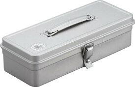 【送料無料】TRUSCO トランク型工具箱 W320XD137XH96.5 シルバー T320SV [328-7980] 【スチール製工具箱】[T-320SV]