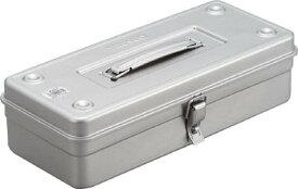 【送料無料!工具箱が超安い!】TRUSCO トランク型工具箱 W373XD163XH102 シルバー T350SV [328-7998] 【スチール製工具箱】[T-350SV]