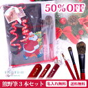 ★Xmasラッピング無料★【50%OFF】【送料無料】【名入れ無料】《熊野筆》 TAUHAUS PRO handy『RED×BLACK セット』メ…
