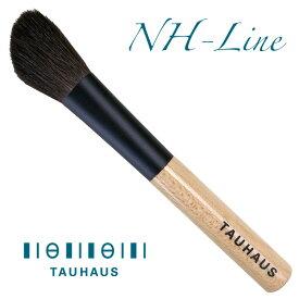 熊野筆 化粧筆 TAUHAUS タウハウス 《熊野筆》 NH-Line メイクブラシハイライトブラシ(馬・斜)