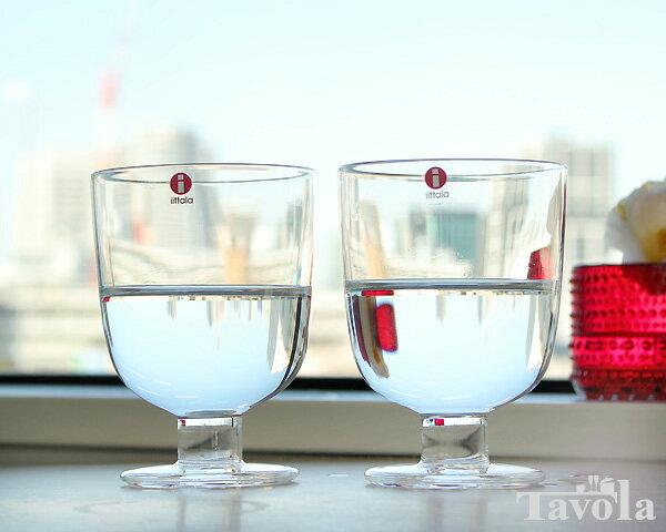イッタラ レンピ クリア 951169 グラス 350ml 2個入り(ペア) 箱入り 【おしゃれ 北欧食器】【セット 赤ワイン 白ワイン】