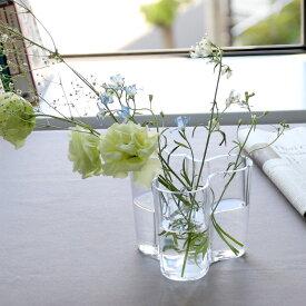 イッタラ アルヴァ・アアルト コレクション 1007039 ベース 120mm クリア iittala Alvar Aalto 【花瓶 フラワー 結婚祝い プレゼント 贈り物】