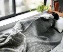 クリッパン(KLIPPAN)×ミナ ペルホネン(mina perhonen) 225101 ウールシングルブランケット ハウスインザフォレスト 130×180cm グレー…