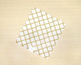 【廃番品】マリメッコ キルト ティータオル 1枚 ナチュラルホワイト/ゴールド marimekko QUILT [ネコポス対応可(4枚まで)] 【キッチンタオル 布巾】【ラッキーシール対応】