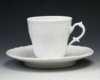 リチャードジノリベッキオホワイト2770/2830(9301)コーヒーカップ&ソーサー200cc