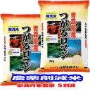 無洗米 減農薬 米 10kg(5kg×2) つがるロマン 青森県産 特別栽培米 令和元年産 送料無料