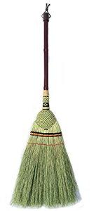 (タワタワ) tawatawa 天然草 デザイン座敷箒 大 / ほうき 短柄 / インドネシア製
