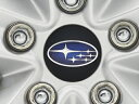 【STI-スバル】レヴォーグ/レガシー用センターキャップSubaru Legacy Wheel & Subaru LEVORG Wheel -Blue Center Cap-28821VA000【取…