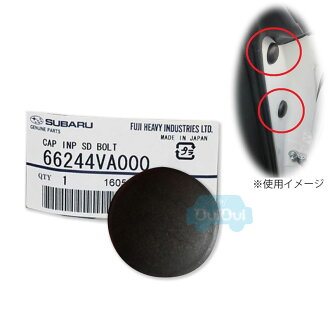 /1個供CAP INP SD BOLT/66244VA000 revogu使用的蓋子側蓋蓋子儀表控製板旁邊螺栓