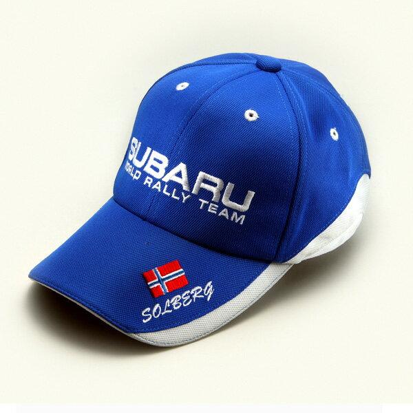 【STI-スバル】SUBARU WORLD RALLY TEAMメモリアルコレクションSWRTドライバーズキャップ(ペター)【SaM】【コンビニ受取対応商品】