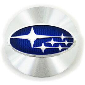 28821VA011【STI-スバル】レヴォーグ用センターキャップ≪シルバー≫Subaru LEVORG Wheel -Blue Center Cap-※1個での販売です【取寄せ】【メール便OK】※4個までメール便対応可(旧品番:28821VA010)