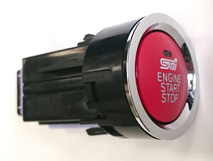 【6/22からポイント10倍!】【STI-スバル】SPORTSPARTSforBRZプッシュエンジンスイッチ【SaM】