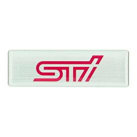 【STI-スバル】STIエンブレム(ヘアライン) STSG15100240 subaru オーナメント【コンビニ受取対応商品】【ゆうパケット(メール便)OK】