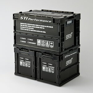【STI-スバル】【スバル純正】STSG17100160折りたたみコンテナM【SaM】【コンビニ受取対応商品】