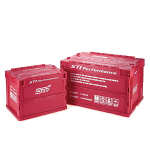 【STI-スバル】【スバル純正】STSG17100150折りたたみコンテナS【SaM】【コンビニ受取対応商品】