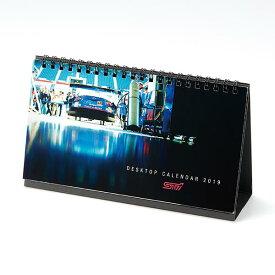 【STI-スバル】STSG18100270/STIデスクカレンダー2019STI卓上カレンダー【ゆうパケット(メール便)OK】【コンビニ受取対応商品】