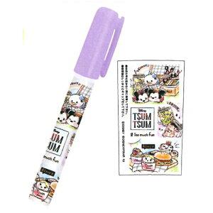 【 ディズニー 】 ディズニー ツムツム ペン型スティックのり 63631 カミオジャパン メール便可