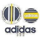 アディダスゴルフ(adidas Golf) ツインクリップマーカー/ネイビー/イエロー /AWS45/A15789