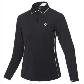 テーラーメイドゴルフ(TaylorMade Golf) 【ウィメンズ】 テーラードストレッチ L/S ポロ/ブラック /KY561 /U32566