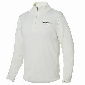 テーラーメイドゴルフ(TaylorMade Golf) 【メンズ】 ハーフジップベーシックセーター/ホワイト /KY549 /U32532