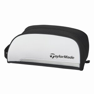 テーラーメイドゴルフ(TaylorMade Golf) トゥルーライト シューズケース/ホワイト/ブラック /CCN06 /M72373