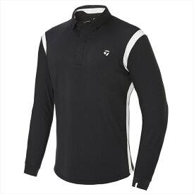 テーラーメイドゴルフ(TaylorMade Golf) 【メンズ】 コントラストライン L/S ポロ/ブラック /KY566 /U32581