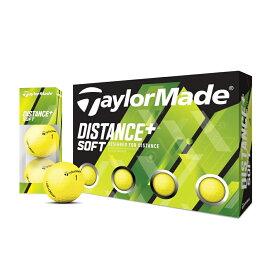 テーラーメイドゴルフ(TaylorMade Golf) ディスタンス+ ソフト マットイエロー ボール