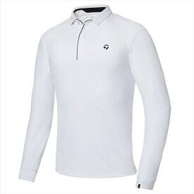 テーラーメイドゴルフ(TaylorMade Golf) 【メンズ】 テーラードストレッチ L/S ポロ/ホワイト /KY485 /U24862