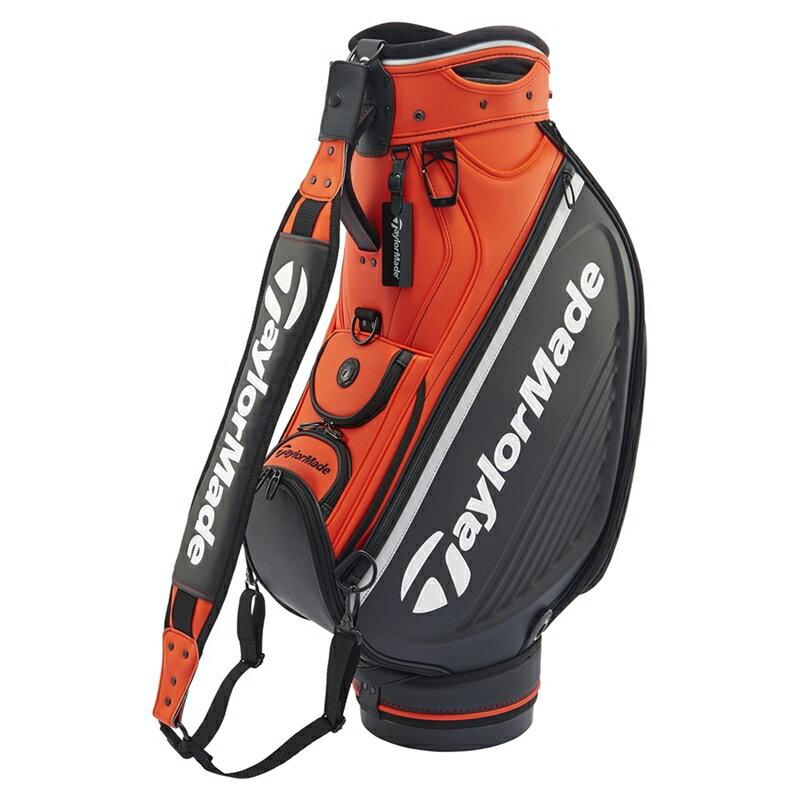 テーラーメイドゴルフ(TaylorMade Golf) 直営店限定商品 19 TM グローバル ツアーカートバック/オレンジ/ブラック /ANW40 /N65519