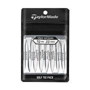 テーラーメイドゴルフ(TaylorMadeGolf)ウッドティーパック70mm20p/ホワイト