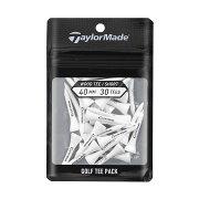 テーラーメイドゴルフ(TaylorMadeGolf)ウッドティーパック40mm30p/ホワイト