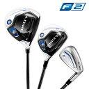 テーラーメイドゴルフ(TaylorMade Golf) 【お買い得セット】 グローレ F (GLOIRE F) カーボンS/7本セット(DR10.5S・…