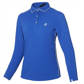テーラーメイドゴルフ(TaylorMade Golf) 【ウィメンズ】 テーラードストレッチ L/S ポロ/ブルー /KY561 /U32567