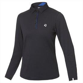 テーラーメイドゴルフ(TaylorMade Golf) 【ウィメンズ】 テーラードピケ L/Sポロ/ブラック /KY560 /U32563