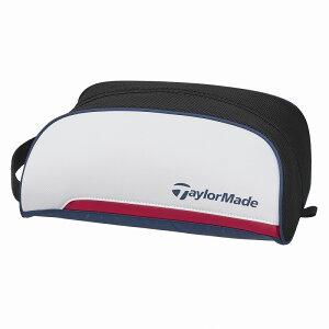 テーラーメイドゴルフ(TaylorMade Golf) トゥルーライト シューズケース/ホワイト/ネイビー /CCN06 /M72371