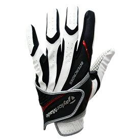 テーラーメイドゴルフ(TaylorMade Golf) TM インタークロスグローブ 3.0/ホワイト/ブラック /KL970 /U23349