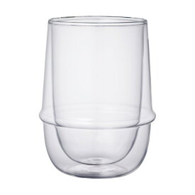 KINTO/キントー KRONOS(クロノス) ダブルウォールアイスティーグラス 23106 【 コップ カップ 食器 キッチン用品 デザイン シンプル おしゃれ 】 ポイント10倍
