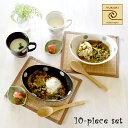 【結婚祝い プレゼント ギフト】美濃焼 風趣 ナチュラルスタイル カップ&カレー皿ペアセット | 食器 お皿 皿 楕円形 …