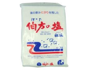 伯方塩業 伯方の塩 粗塩 1kg