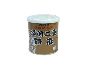 絹羽二重胡麻・白【胡麻ペースト】300g  (缶)