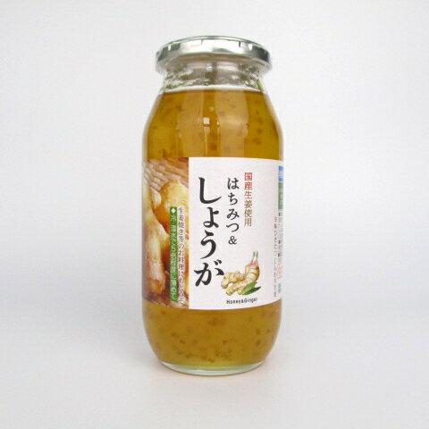 サクラ印 国産生姜使用 はちみつ&しょうが 810g (旧・はちみつ生姜湯)