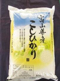 【新米】令和3年度 富山県産 こしひかり 10kg 白米 備蓄 保存食