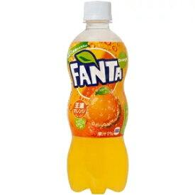 ファンタ オレンジ 500mlPET×24本 コカ・コーラ直送商品以外と 同梱不可 【D】【サイズE】