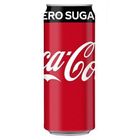 コカ・コーラ ゼロ 500ml缶×24本 コカ・コーラ直送商品以外と 同梱不可 【D】【サイズE】