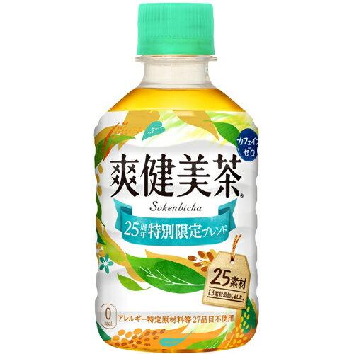 爽健美茶 280mlPET×24本 コカ・コーラ直送商品以外と 同梱不可 【D】【サイズD】