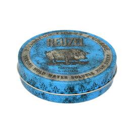 REUZEL ルーゾーポマード ストロングホールド (ブルー) 4oz.-113g (水溶性 ストロングホールド)(ゆうパケット送料無料)